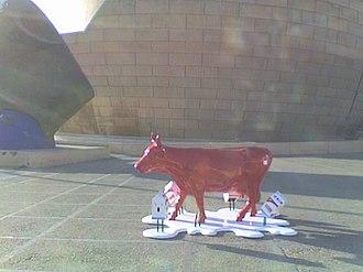 Zona Río - Image: Cow parade TIJ 2