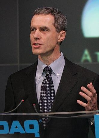 Craig H. Barratt - Craig Barratt opening NASDAQ market 2006