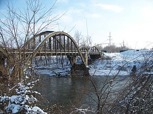 Osawatomie, Kansas - Historic Creamery Bridge (2007)