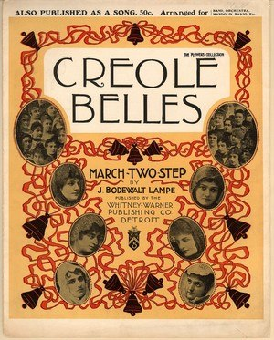 1900 in music - Image: Creole Belles 1900