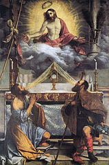 Christ with Saints Andrew and Roch