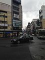 Crossroads of Kawaramachi-Sanjo in a rainy day.jpg