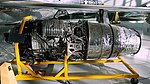 Curtiss-Wright J65-W-3 engine, as installed in the Republic F-84F Thunderstreak aircraft - Evergreen Aviation & Space Museum - McMinnville, Oregon - DSC00580.jpg