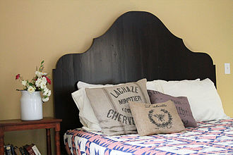 CustomMade - A bed frame that was made by one of CustomMade's custom makers