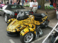 Brp Can Am Spyder Roadster Wikipedia