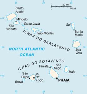 Wo Liegt Kapverden Karte.Kapverdische Inseln Wikipedia