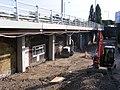 Cycle track completion Lea Bridge Station E10 - 46527380234.jpg