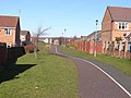 Cycleway, Shankhouse - geograph.org.uk - 1734318.jpg