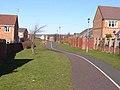 Cycleway, Shankhouse - geograph.org.uk - 1734318.jpg
