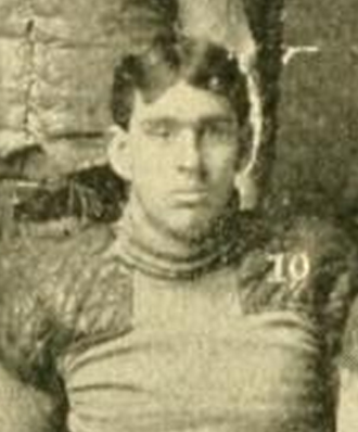 Cyrus E. Dietz - Dietz pictured as captain of the 1901 Northwestern team