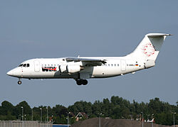 BAe 146-200 der WDL Aviation