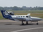 D-ISAV Cessna 402B Businessliner Aerodata-Surveys (36155586382).jpg