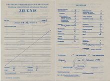 Schulzeugnis wikipedia - Stempel berlin mitte ...