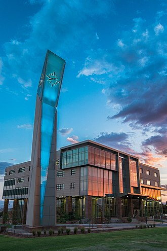 Dixie State University - DSU Holland Centennial Commons and Clock Tower