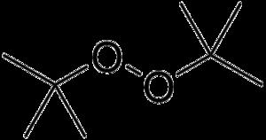 Di-tert-butyl peroxide - Image: DTBP
