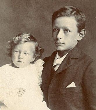 F. L. Lucas - D. W. Lucas and F. L. Lucas, c.1906