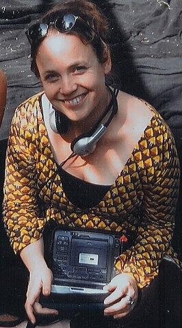Dana Nechushtan in 2008 op de set voor de televisieserie Annie M.G.