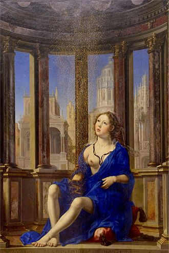 Danaë - Image: Danae (1527)