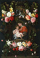 Daniel Seghers - Garland of Flowers with Madonna and Child - Google Art Project.jpg
