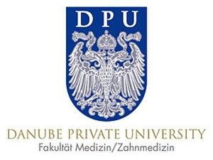 Danube Private University - Image: Danube Private University logo