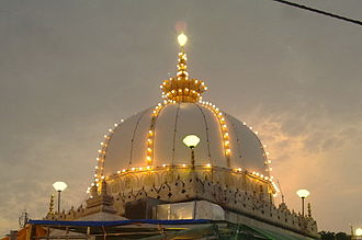 13th century - Tomb of the great Islamic scholar Mawlana Kwaja Moinuddin Chishti.