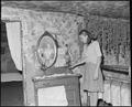 Daughter of John Whitehead with kerosene lamp. Coleman Fuel Company, Red Bird Mine, Field, Bell County, Kentucky. - NARA - 541204.tif