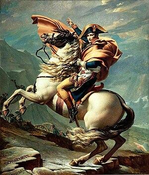 """Imagini pentru Napoleon Bonaparte trecând Alpii"""""""