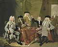 De inspecteurs van het Collegium Medicum te Amsterdam, 1724 Rijksmuseum SK-A-1635.jpeg