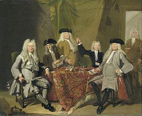 Inspectors of the Collegium Medicum in Amsterdam, 1724