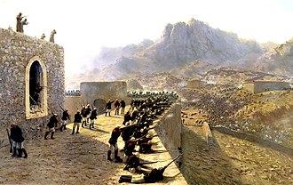 Doğubayazıt - Defence of Doğubayazıt during the Russo-Turkish War (1877–78) by Lev Lagorio