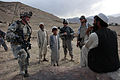 Defense.gov News Photo 100620-A-6225G-083 - An Afghan man speaks with U.S. Army soldiers while they check on conditions in the village of Paspajak in the Charkh district of the Logar province.jpg