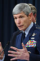 Defense.gov News Photo 110224-D-XH843-010 - Air Force Chief of Staff Gen. Norton A. Schwartz speaks with members of the press about the KC-X contract announcement during a briefing with.jpg
