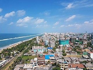 Dehiwala-Mount Lavinia Suburb in Colombo District, Western Province, Sri Lanka