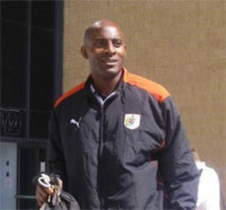 Dele Adebola - Adebola pictured in 2008 while at Bristol City