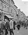Demonstratie van Duitse mijnwerkers in Bonn tegen sluitin van mijnen in het Roer, Bestanddeelnr 910-7029.jpg