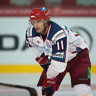 Denis Parshin Russian ice hockey player