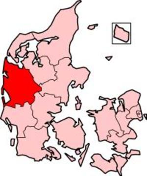 Ringkjøbing County - Ringkjøbing County in Denmark