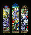 Derry St Columb's Cathedral Side Chapel Saint Columba Window 2013 09 17.jpg