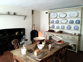 Charles Dickens Museum - Image: Dickens Museum Kitchen 17