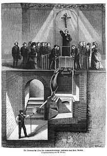 Forno crematorio della Siemens, 1874.