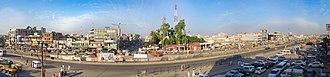 Dina, Pakistan - Image: Dina City View Side 1 with Clouds
