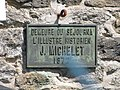 Dinard plaque Michelet.jpg