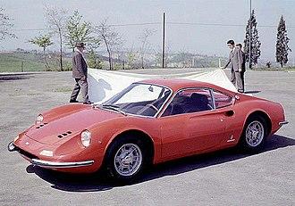 Aldo Brovarone - Ferrari Dino 206 GT