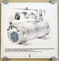 Disegno raff. generatore di vapore - Musei del cibo - Parmigiano - 165.tif