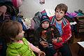 Distribution of hygiene kits in Kirovsk 106 (20894836926).jpg