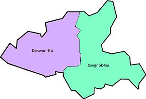 District of Ansan