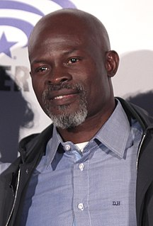Djimon Hounsou Beninese-American actor and model