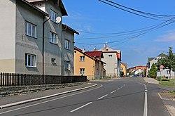 Dobkovice, intersection.jpg