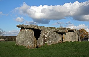 Gennes, Maine-et-Loire - Dolmen of La Madeleine, one of the dolmens visible around Gennes