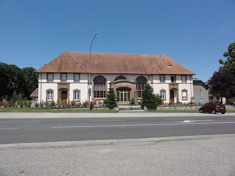 Domèvre-sur-Vezouze (M-et-M) mairie